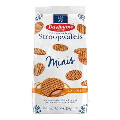Daelmans Mini Caramel Stroopwafel Bag Set of 6