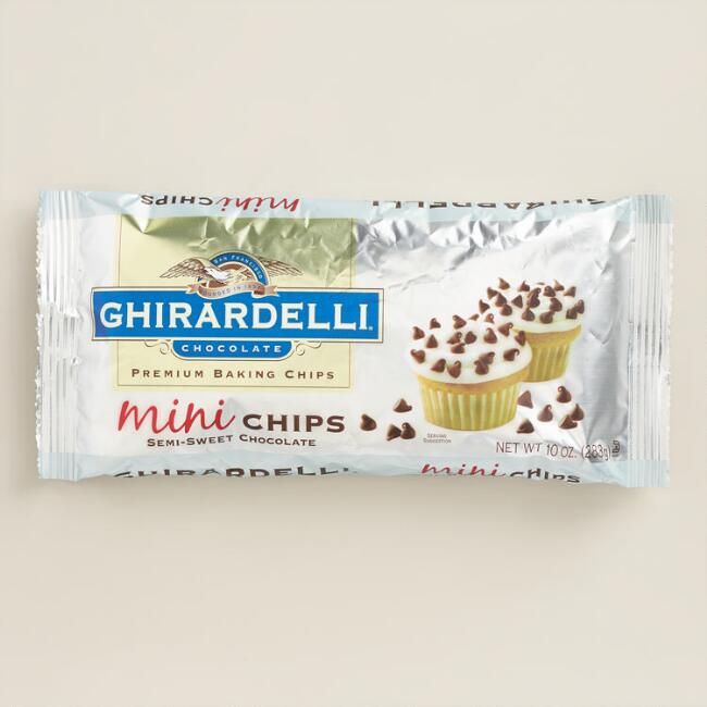 Ghirardelli Mini Semi-Sweet Chocolate Baking Chips