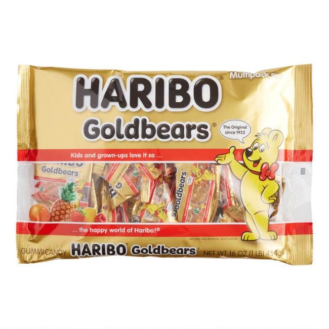 Haribo Mini Bags Gold Bears, 1 lb. Bag