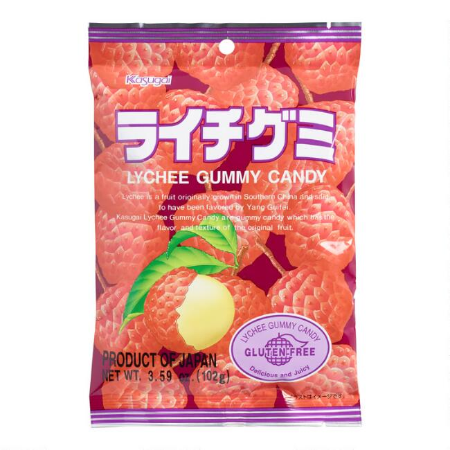 Kasugai Gummy Lychees, Set of 12