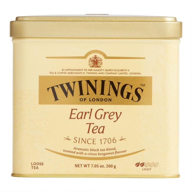 Twinings Earl Grey Loose Leaf Tea Tin