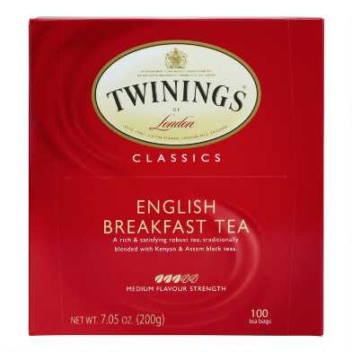 Twinings English Breakfast Tea, 100-Count