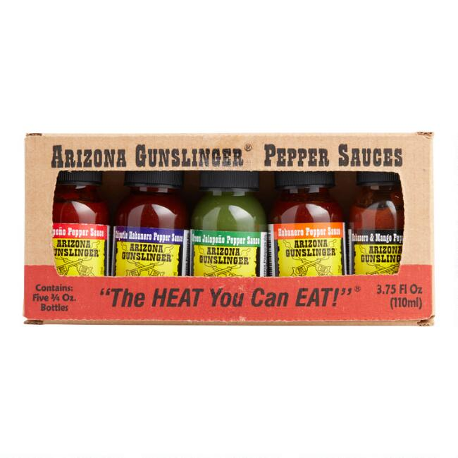Arizona Gunslinger Mini Pepper Sauces 5 Pack