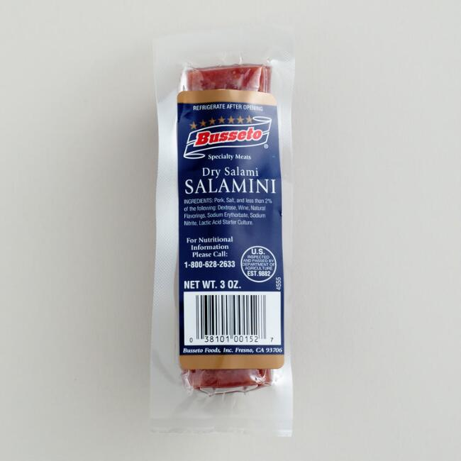 Busseto Mini Dry Salami, Set of 12