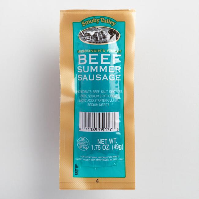 Smoky Valley Original Summer Sausage, Set of 36