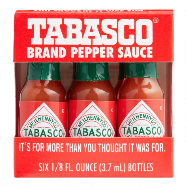 Mini Tabasco 6 Pack World Market