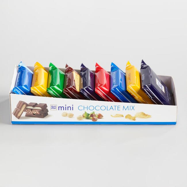 Ritter Sport Mini Chocolate Bars, Set of 2