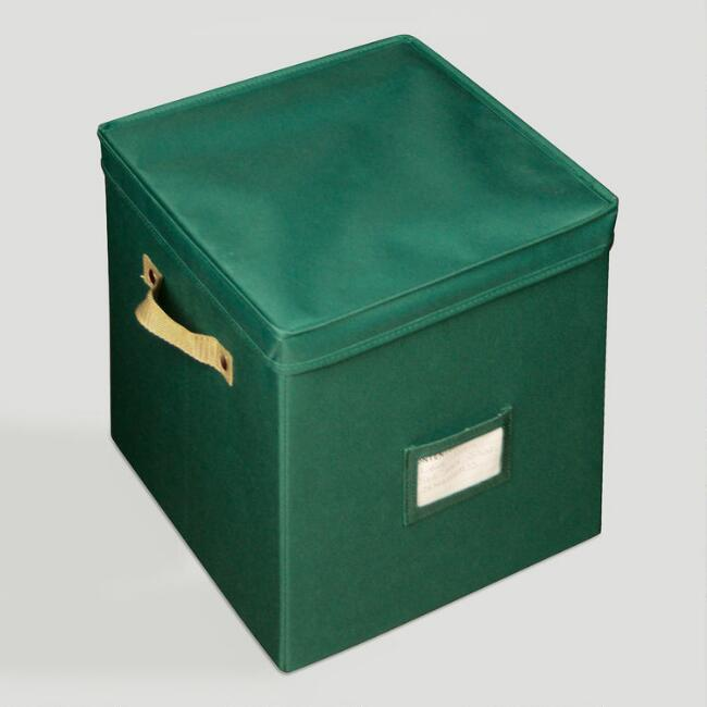 Green Protective Ornament Cube