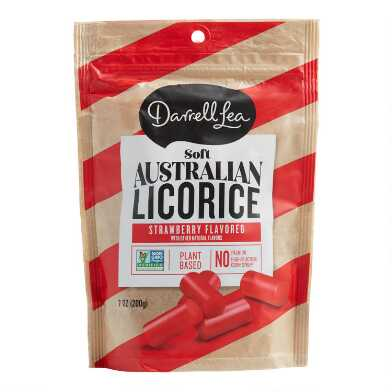 Darrell Lea Strawberry Soft Australian Licorice Set of 8