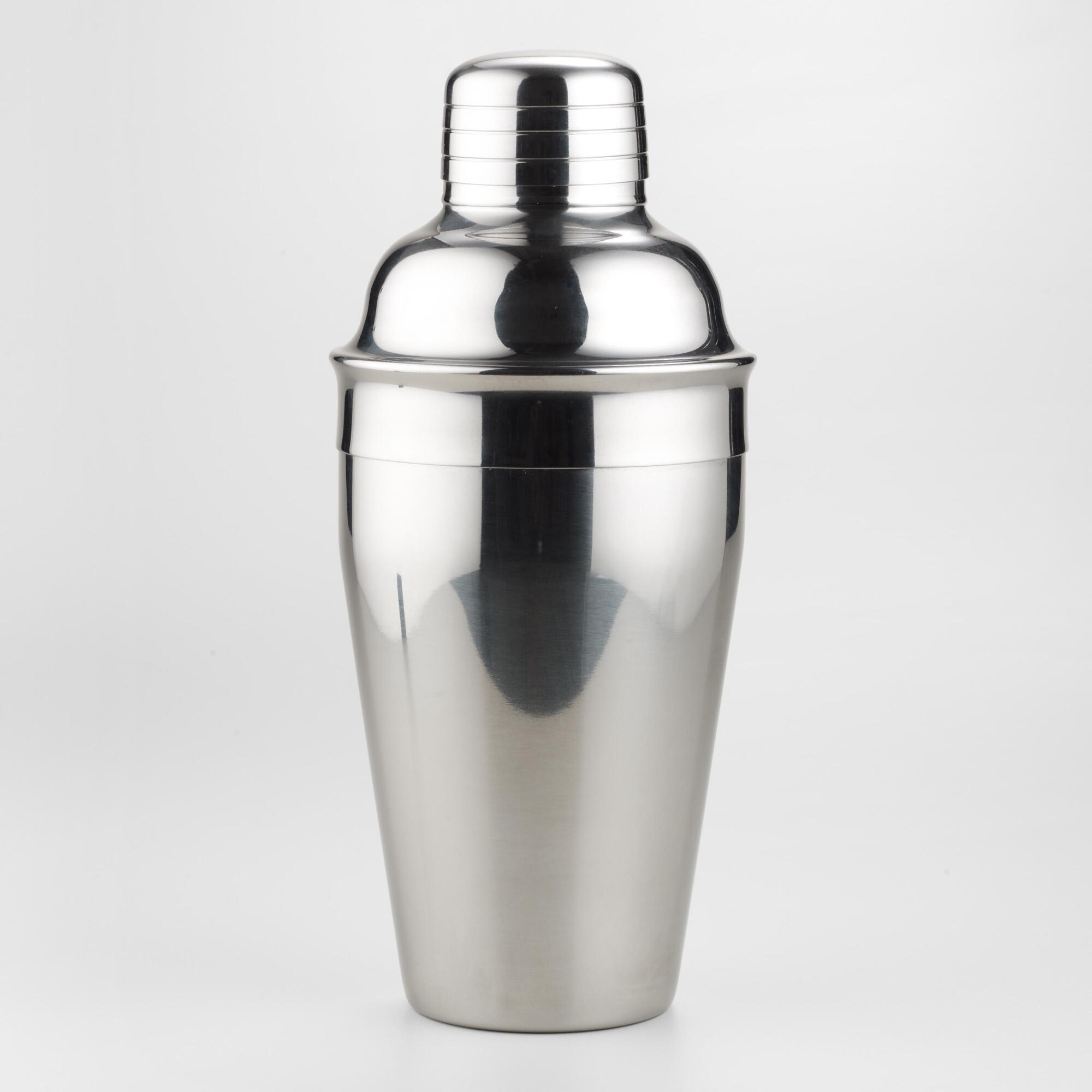 Stainless Steel Cocktail Shaker from Cost Plus World Market