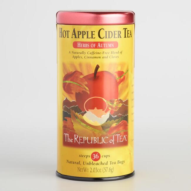 The Republic of Tea Hot Apple Cider Tea, 36-Count