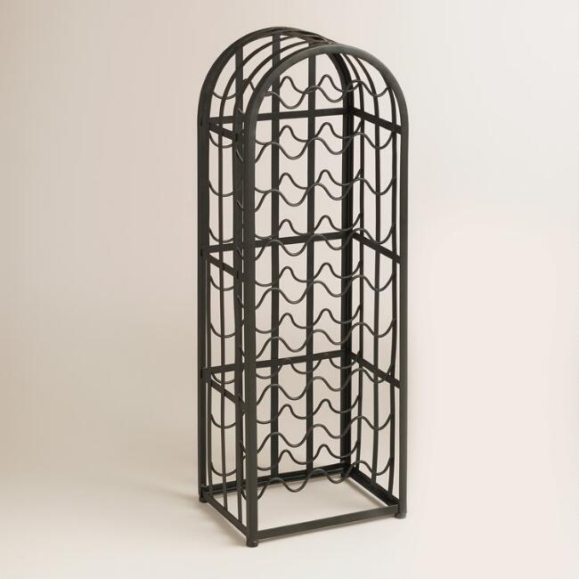Metal Arch Wine Rack
