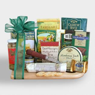 Gift baskets unique ideas online world market cheeseboard complete ultimate gift basket negle Images