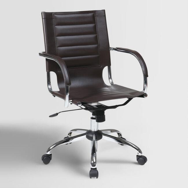 Espresso Grant Office Chair