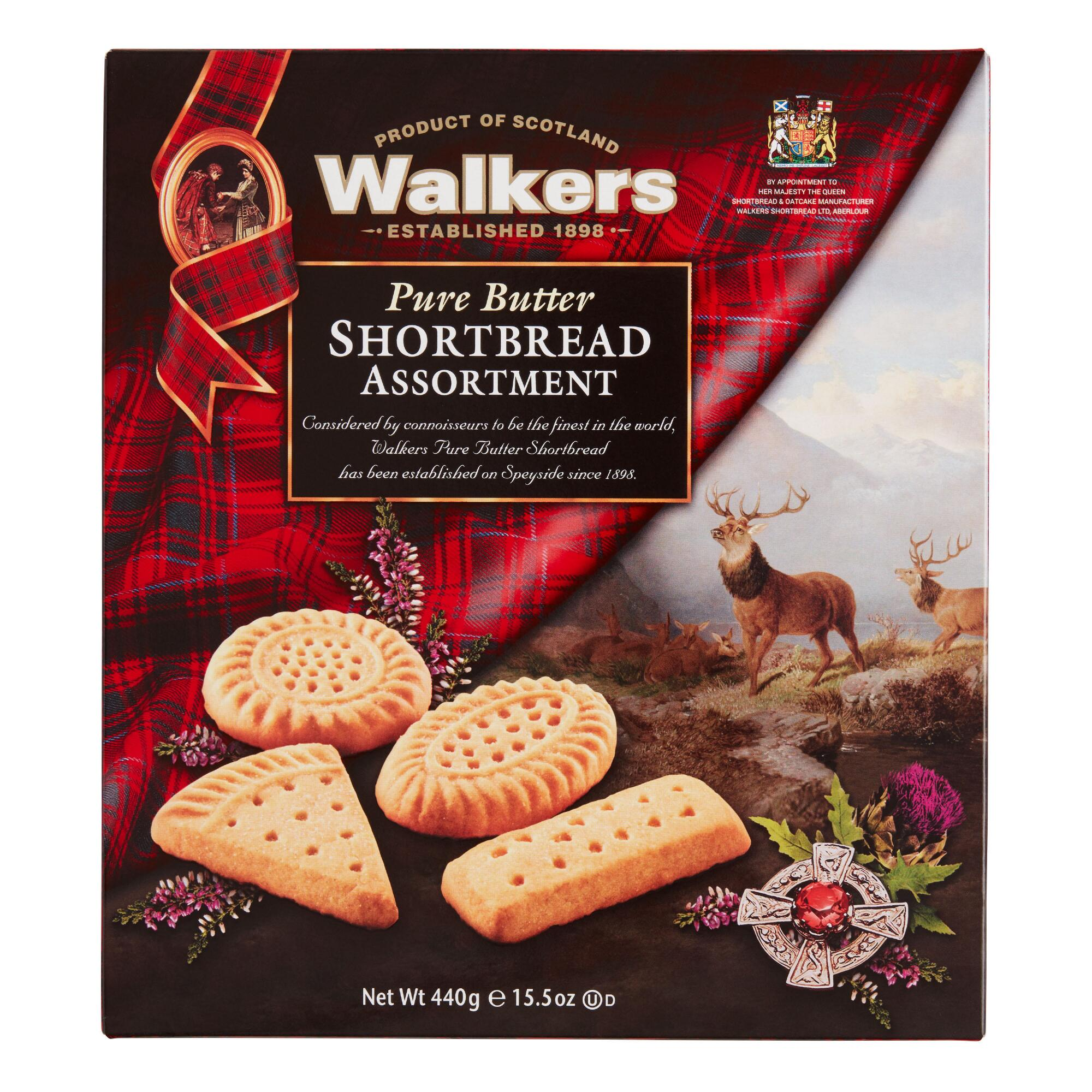 Walkers Traditional Shortbread Assortment, Set of 6 by World Market