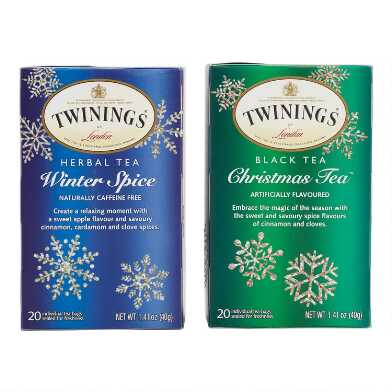 Twinings Holiday Tea 20 Count