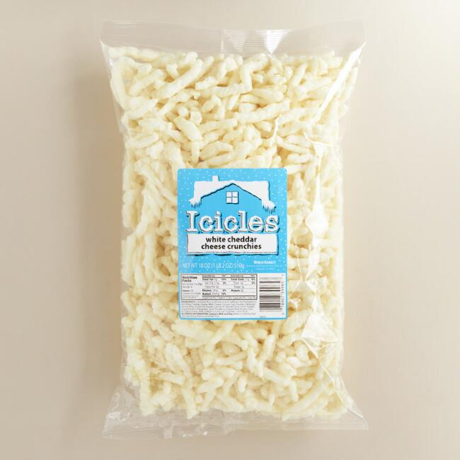 White Cheddar Baked Icicles