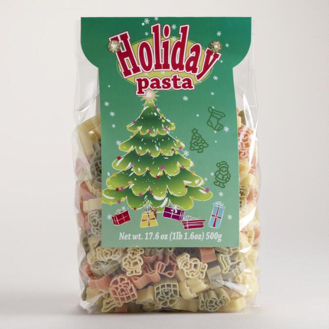 World Market® Santa, Tree and Stocking Pasta