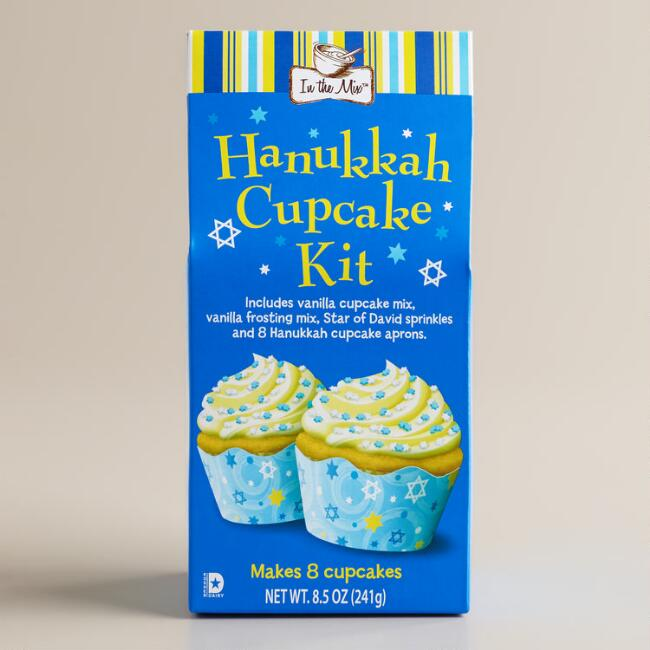 Hanukkah Cupcake Mix, Set of 2