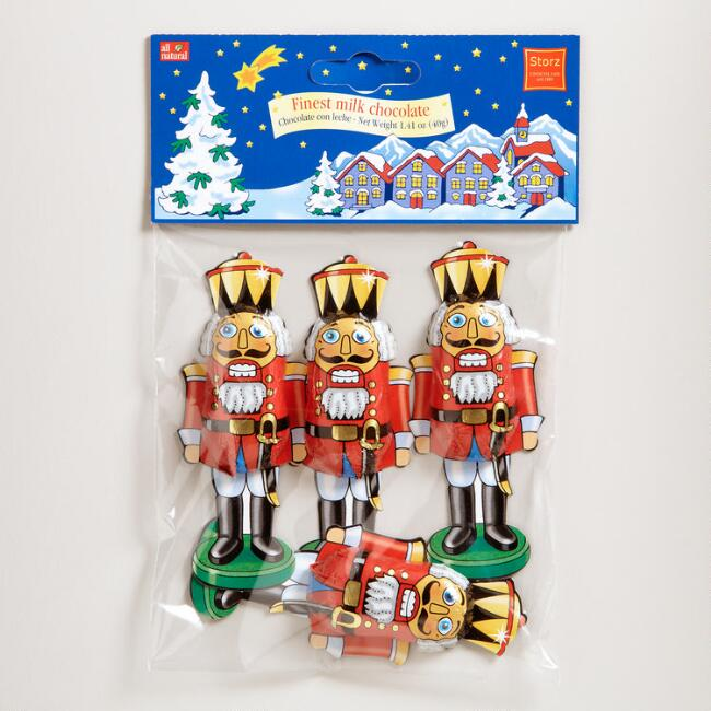 Storz Chocolate Nutcrackers, Set of 6 bags