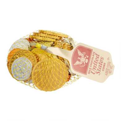 Steenland Mesh Bag of US Coins, Set of 6