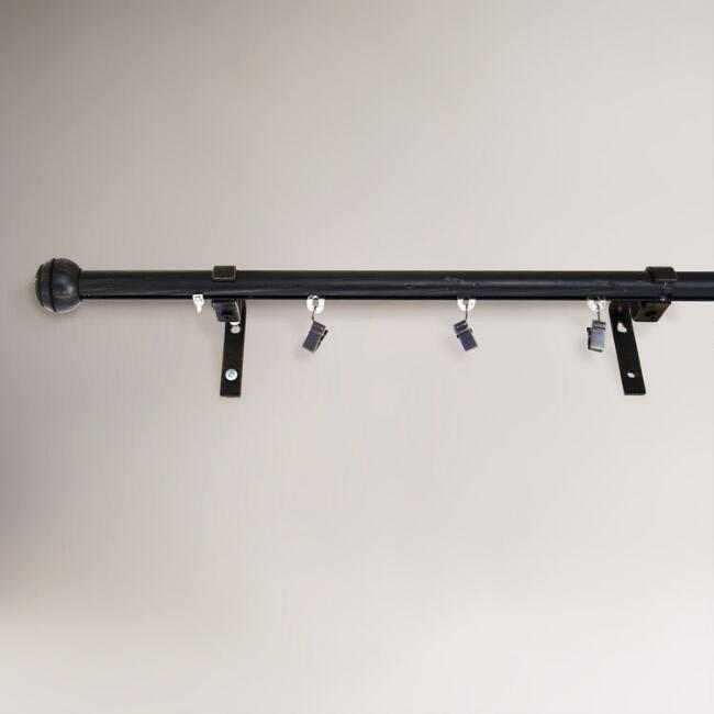 Indoor/Outdoor Traverse Curtain Rod