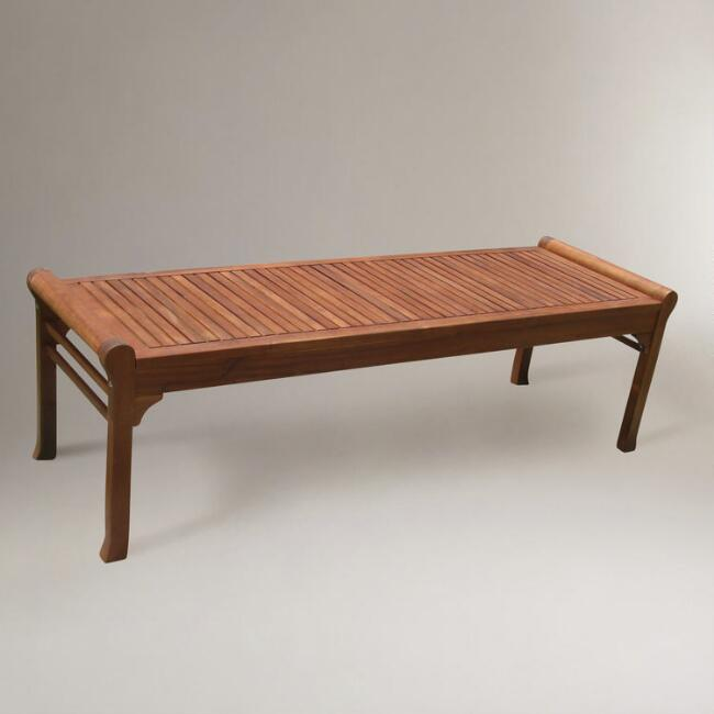 Taha Backless Bench