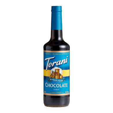 Torani Sugar Free Chocolate Syrup Set of 12