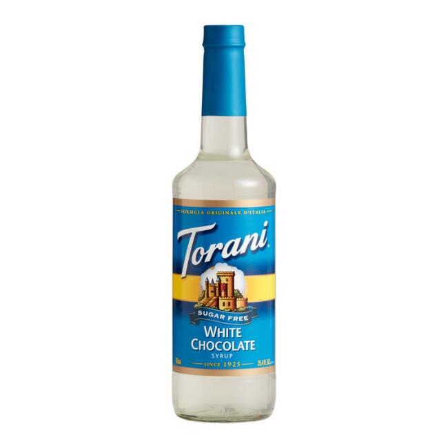 Torani Sugar Free White Chocolate Syrup Set of 12