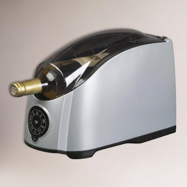 Chrome Cooper Cooler™ Rapid Beverage & Wine Chiller
