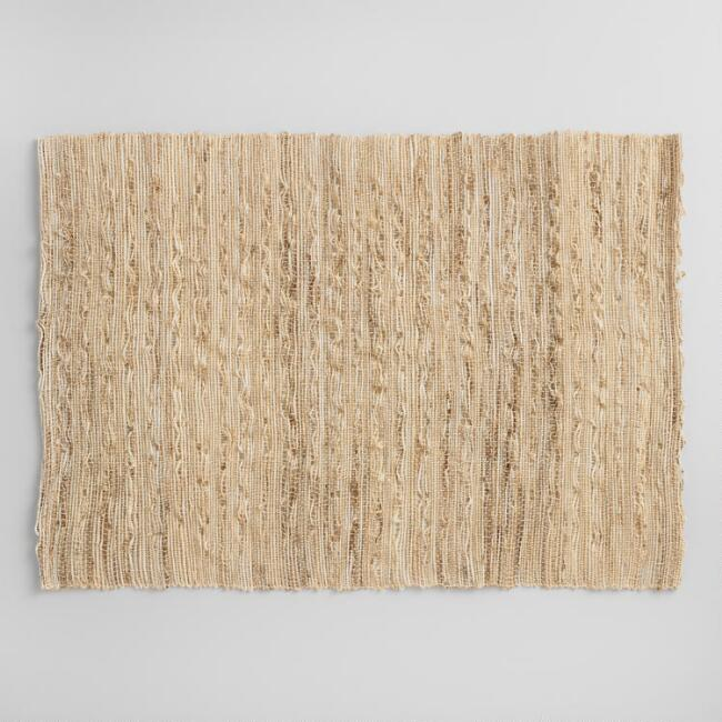 Woven Fiber Placemats Set of 4