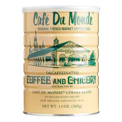 Cafe Du Monde Decaf Ground Coffee