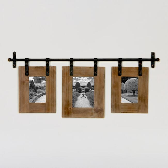 Jacob 3-Photo Wall Frame | World Market