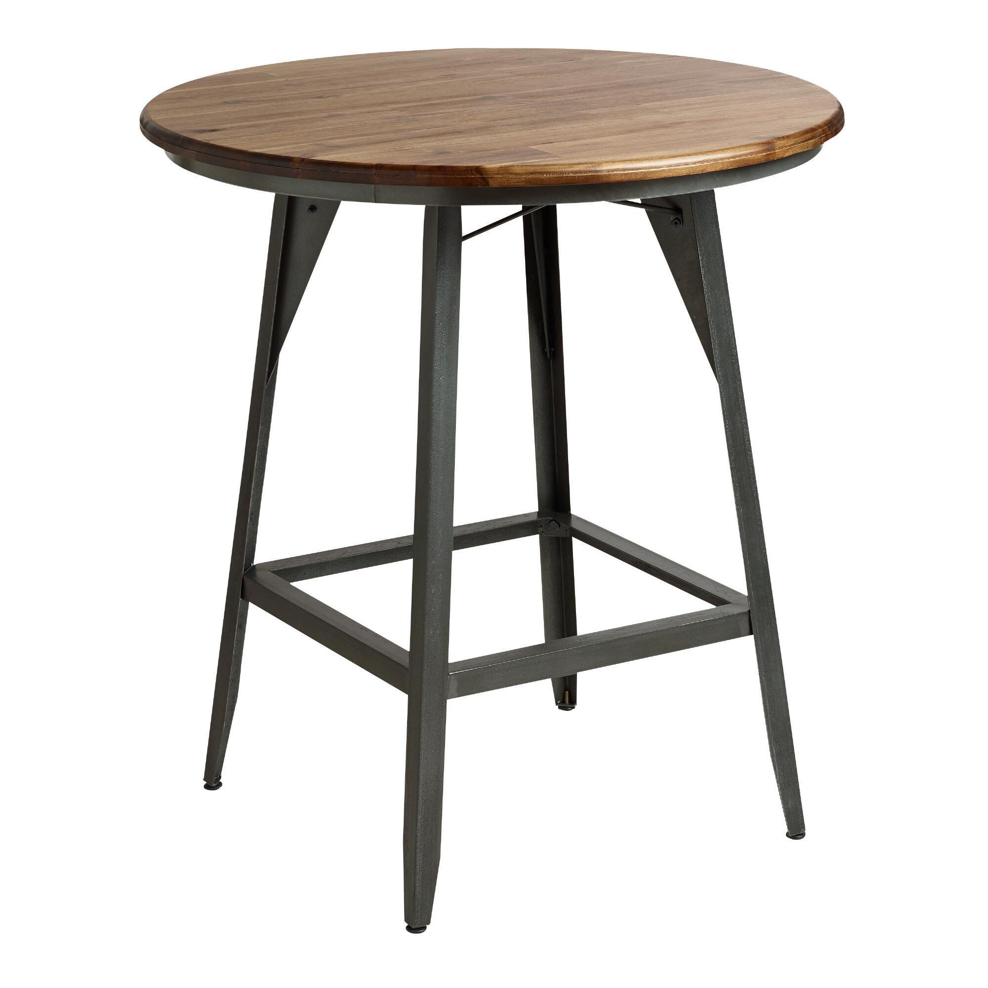 Hudson Pub Table - Metal - Small by World Market
