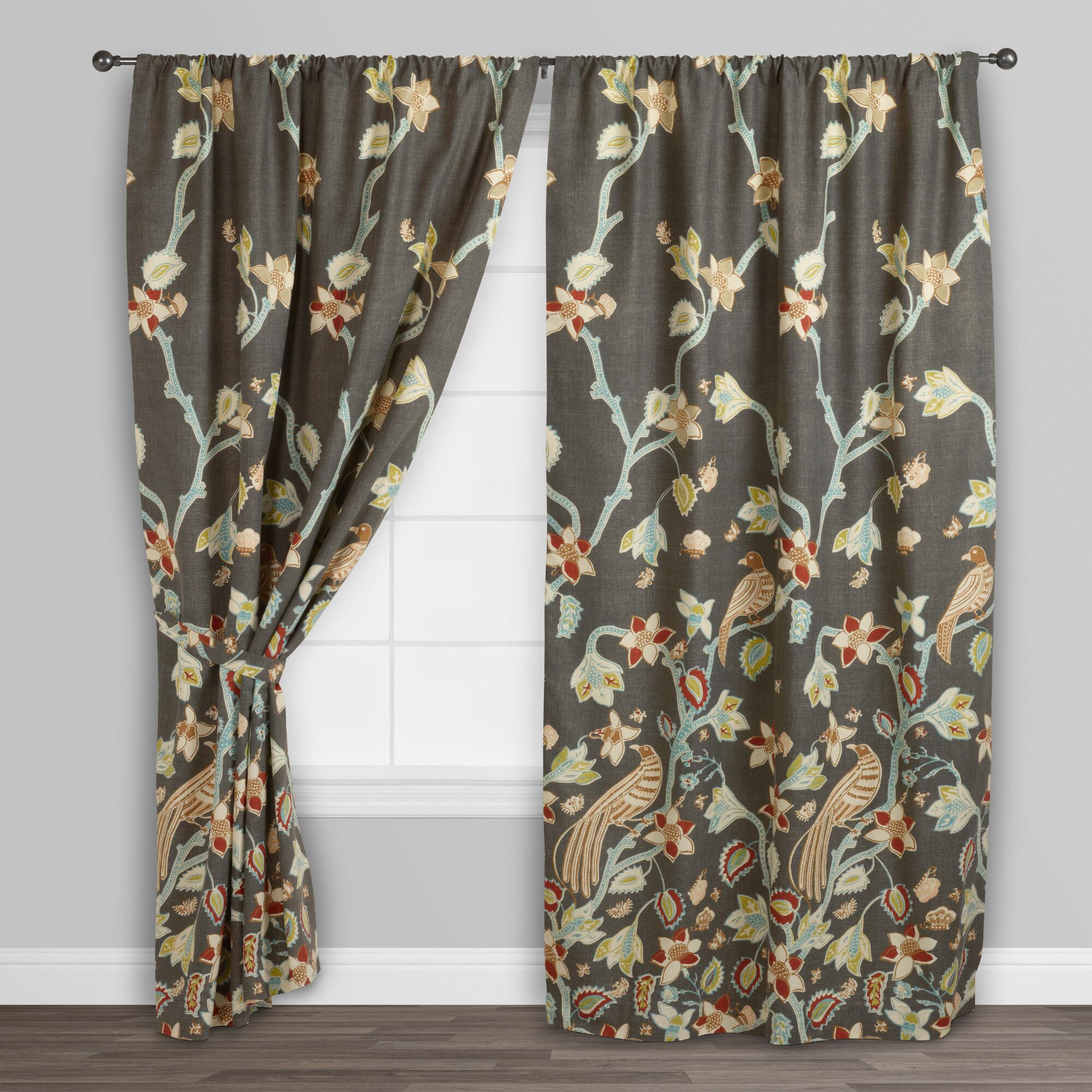 ideal the these pleat a floral soft made childrens home rich exclusive durable as curtains in ready for they choice birds naturally pencil with itm hearts cotton are any room