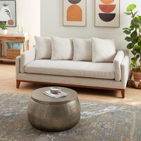 Cala Hammered Coffee Table. Previous. v5. v1. v2 - Cala Hammered Coffee Table World Market