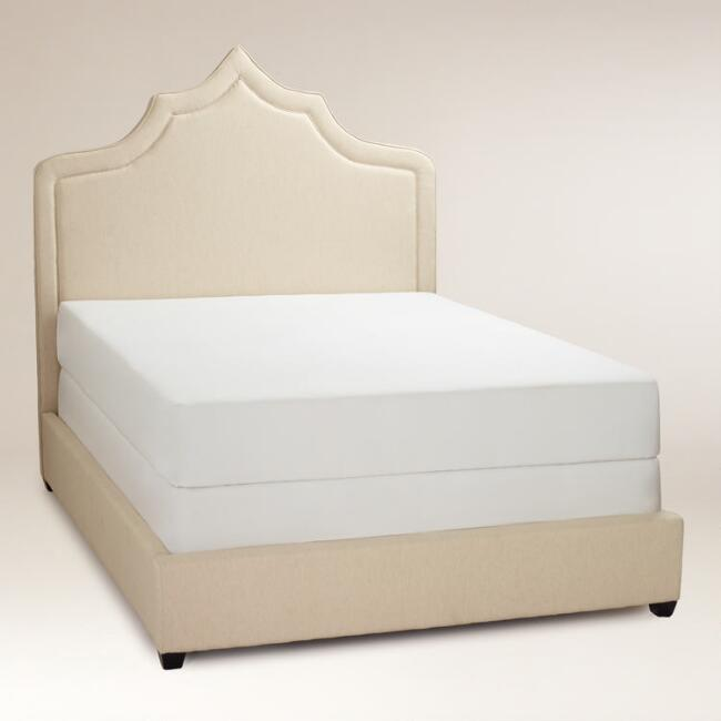 Ninda Upholstered Queen Bed | World Market