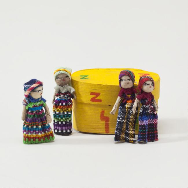 Boxed Worry Dolls