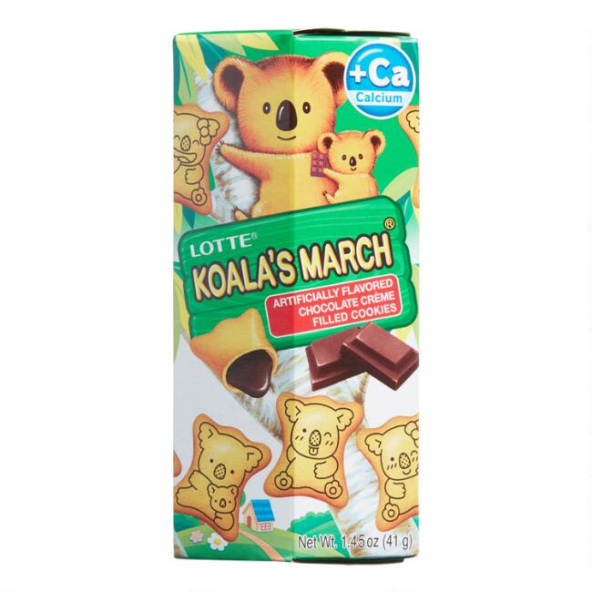 Lotte Koala's March Chocolate Cookies