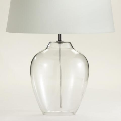 Clear Glass Table Lamp Base World Market