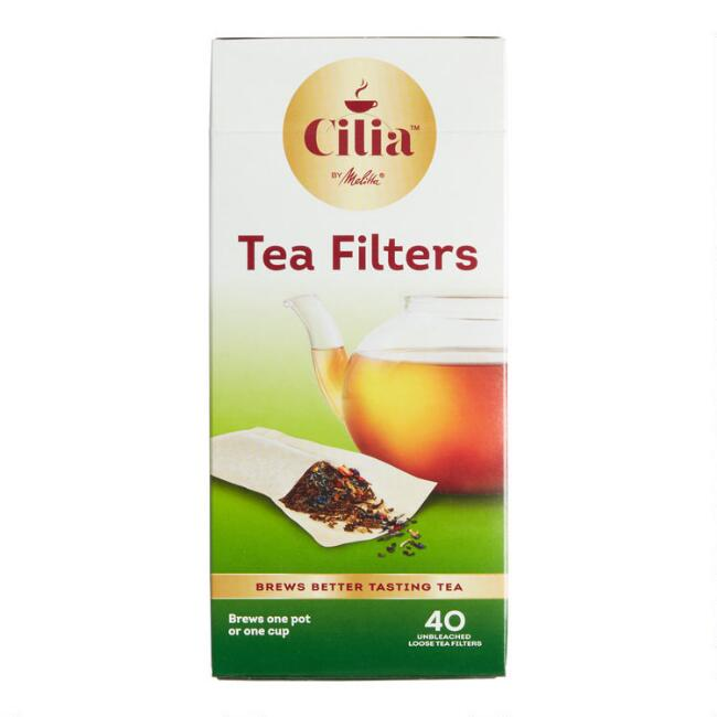 Loose Leaf Tea Filters, 40 count
