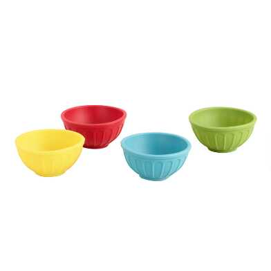 Silicone Pinch Bowls, Set of 4