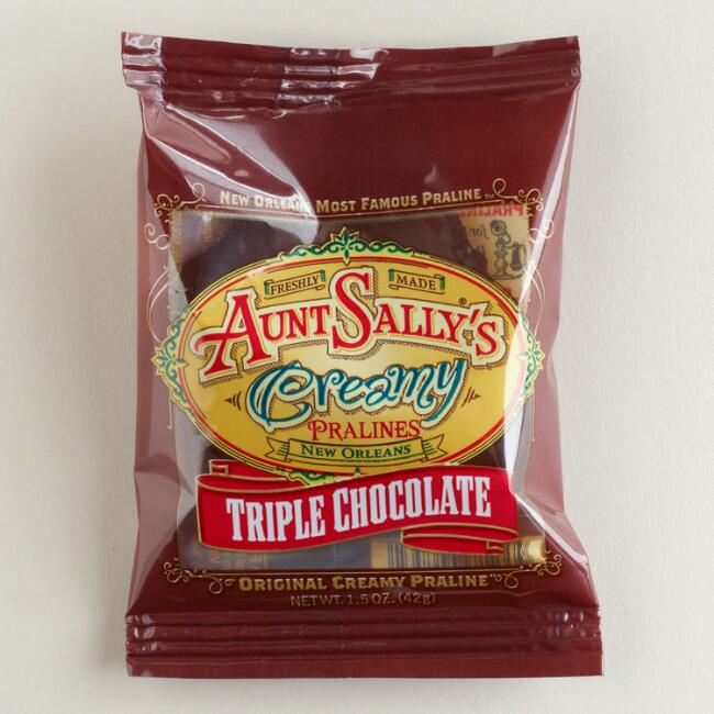 Aunt Sally's Triple Chocolate Creamy Pralines, Set of 12