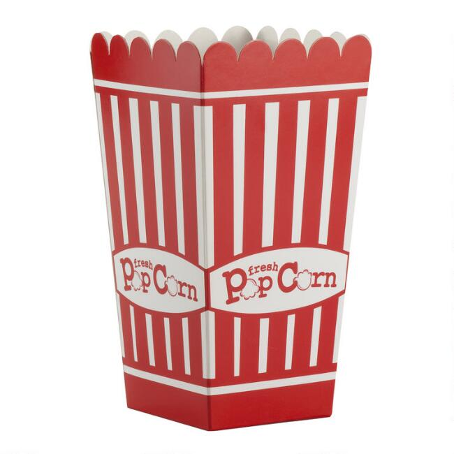 Small Cardboard Popcorn Boxes 12 Count