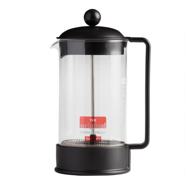 Black Bodum Brazil French Press Coffee Maker World Market