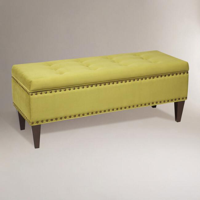 Basil Burnett Storage Bench