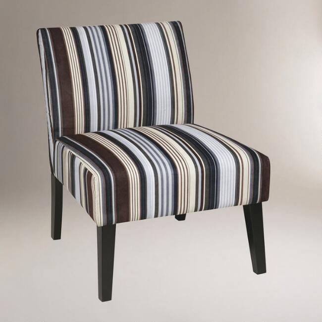 Sky Stripe Huntington Chair