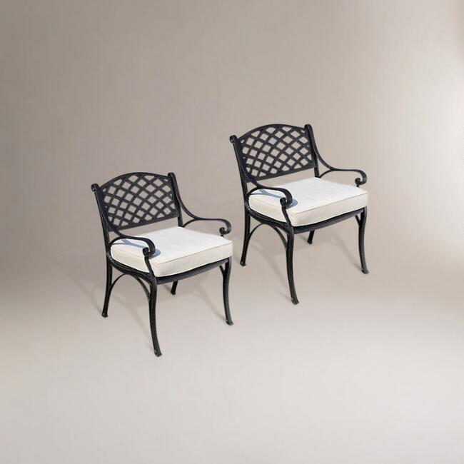 Elements Outdoor Dining Chairs, Set of 2
