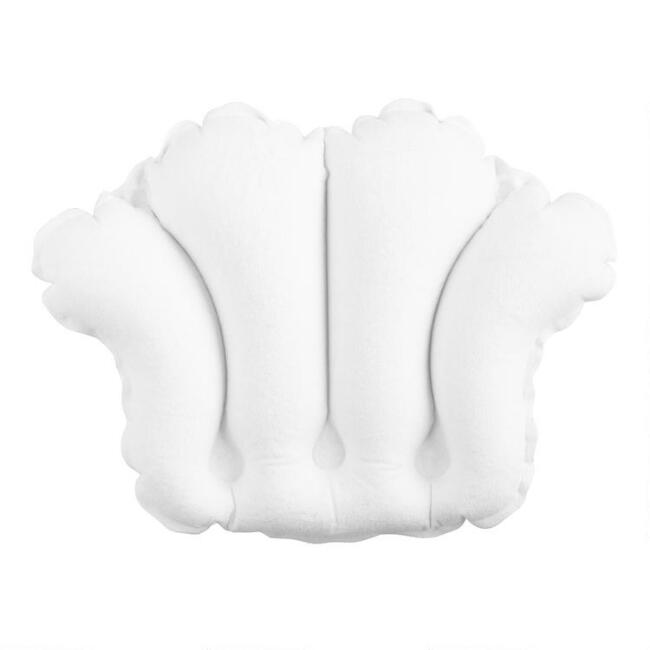 White Bath Pillow