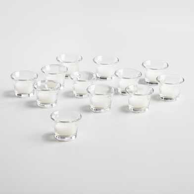 Cocktail Tealight Candle Holders, Set of 12